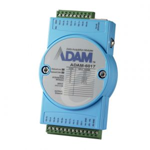 Advantech ADAM-6017 8-ch Isolated Analog Input Modbus TCP Module with 2-ch DO
